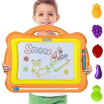 Loyo magnetic drawing board - magna doodle scribble board erasable colorful sketch pad learning toys