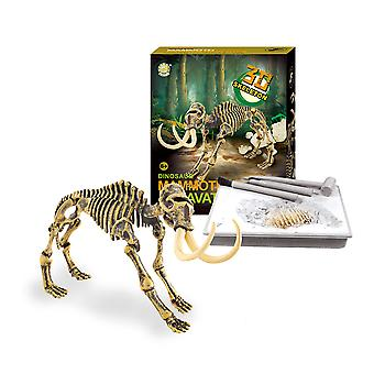 Dinosaur Fossil Archaeological Excavation Toys Mammoth
