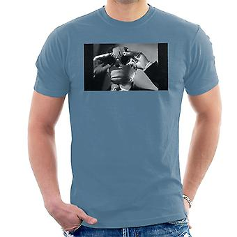 The Invisible Man Touching Glasses Men's T-Shirt