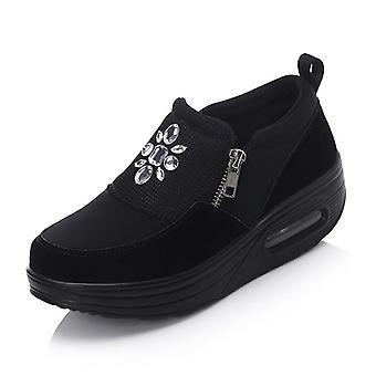 Keil Sneaker Slimming Toning wasserdichte Schuhe