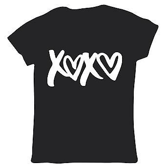 XOXO, Womens T Shirt - Valentines Day Gift Her