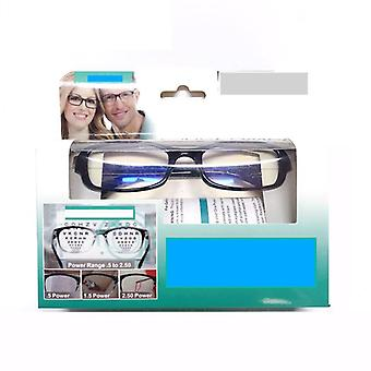 Mulifocal One Power Readers High Quality Auto Adjusting Bifocal Reading Glasses