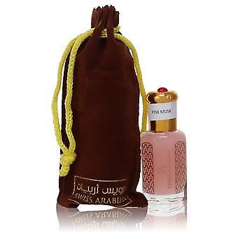 Pink Musk Tahara Hajuvesiöljy (Unisex) Tekijä Swiss Arabian 0.41 oz HajuvesiÖljy