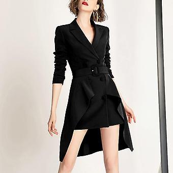 Terno de estilo ocidental casaco pequeno para mulheres