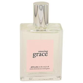 Amazing Grace Eau De Toilette Spray (Tester) By Philosophy 2 oz Eau De Toilette Spray