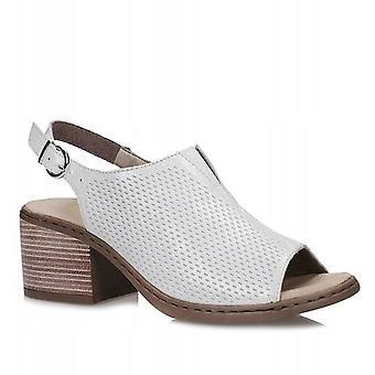 Rieker ghiaccio sandali donne bianco 003