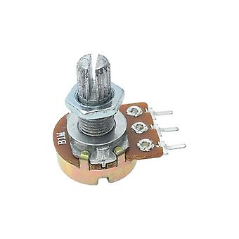 Linear Potentiometer 15mm Shaft With Nuts And Washers