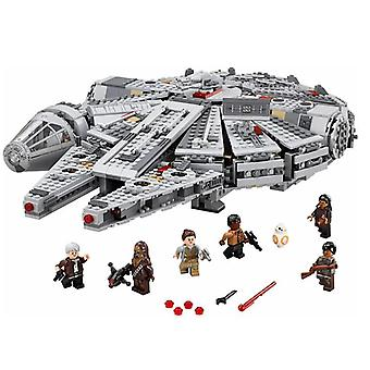 1381 Kpl Star Wars Millennium 79211 Falcon Spacecraft Building Blocks Kids