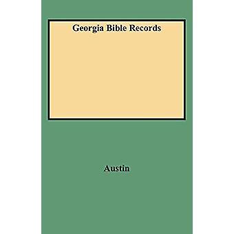 Georgia Bible Records by Austin - 9780806311258 Book