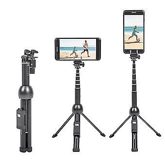 2 I 1 bærbar foldbar telefon selfie stick stativ