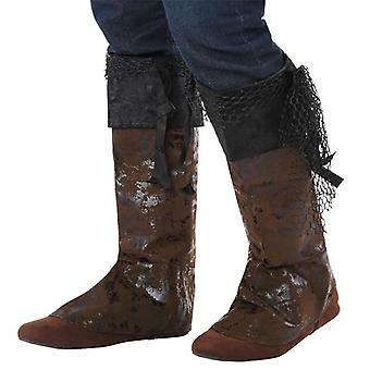 Boot covers brown
