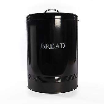 Bread Bin Crock Storage Canister Jar | M&W Black