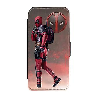 Custodia portafoglio Deadpool Samsung Galaxy S21 Plus