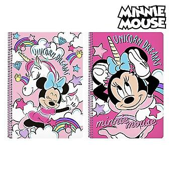 Book of rings minnie mouse pink a4