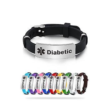 Type1 Diabetes Silicone Bracelet ( Set 1)