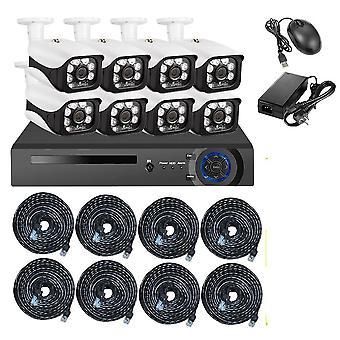 Caméra de sécurité Kerui Wireless Nvr Poe