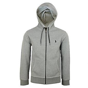 Ralph lauren men's grey core replen zipped hoody