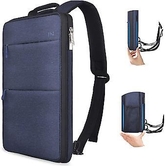 HanFei Schlank und Erweiterbar 15 15,6 16 Zoll Laptop Rucksack, Wasserdicht Notebook Tasche fr Mnner