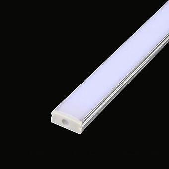 2-30pcs/lot  Led Aluminum Profile U Style 0.5m For Led Strip Transparent Cover