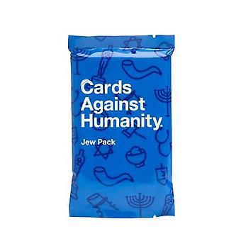 بطاقات ضد الإنسانية اليهودي حزمة لعبة بطاقة