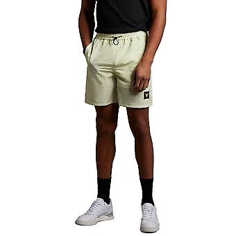 Lyle & Scott Ripstop Casual Shorts - Lucid Green
