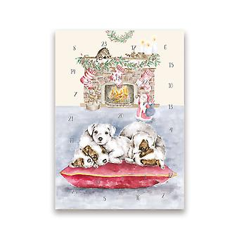 Wrendale Designs Advent Christmas Cards