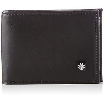 Element Segur Peněženka pro muže, Pánská peněženka Cestovní doplňky, Flint Černá, Jedna velikost