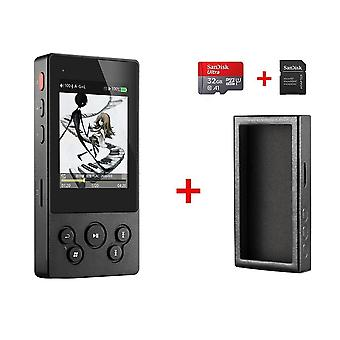 X3ii X3 Ii Usb Dac Bluetooth Bærbar Hd Lossless Mp3 / wav / flac Musikkspiller