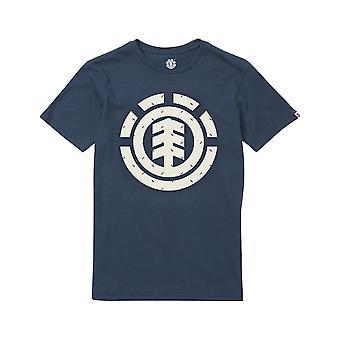 Element Tri Dot Ss Short Sleeve T-Shirt in Eclipse Navy