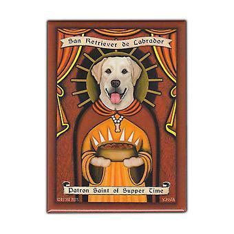 Magnet, Kühlschrank Magnet, Patron Saint Hund Serie, gelbes Labor
