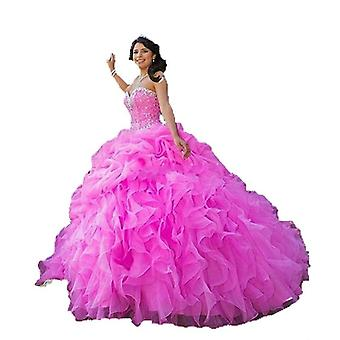 Νέα αγαπημένη μπάλα φόρεμα Quinceanera φορέματα (σετ 2)