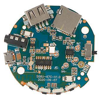 Multifunction Bluetooth Receiver Audio Amplifier Board Mp3 Decoder