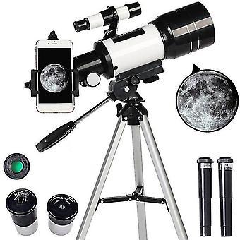 ميكو علم الفلك 15x-150x تلسكوب المبتدئين الانكسار والتأمل