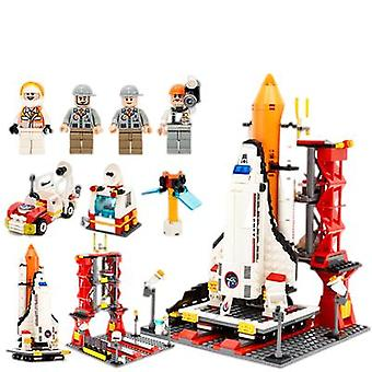Assembled Space Rocket Series Model Puzzle Toys