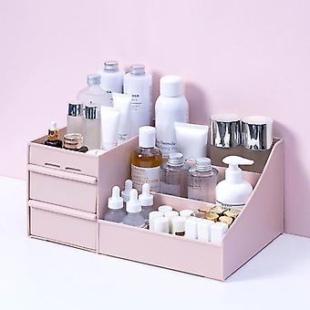 Pukeutumispöydän meikkilaatikon järjestäjä