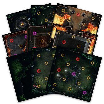 Dark Souls The Board Game Darkroot Basin e Iron Keep Tile Set