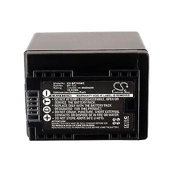 Cameron Sino Bp745Mc Battery Replacement For Canon Camera