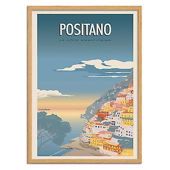 Art-Poster - Positano - Turo