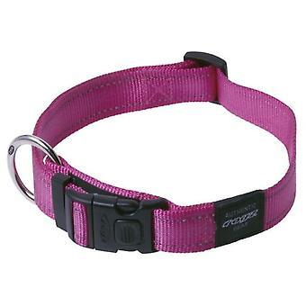 Rogz Adjustable Reflective Collar Utility Pink