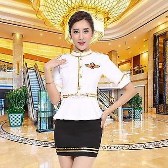 New Hotel Club, Foot Bath Technician Long Sleeves Nightclub Ktv Princess Flight