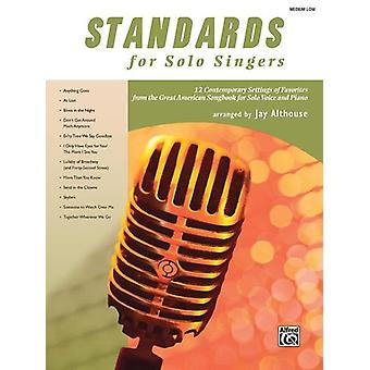 Standards For Solo Singers M/L Book Only