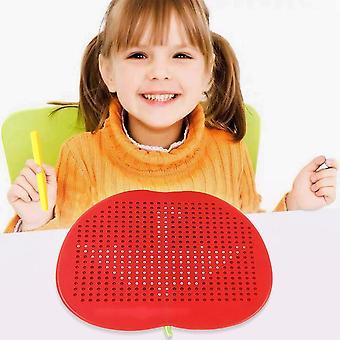 Large Magnetic Plastic Cute Tablet Magnet Pad, Drawing Board, Steel Bead,