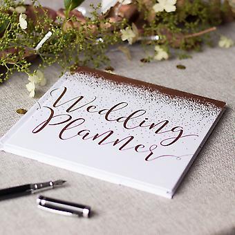 Wedding Planner Book Rose Gold | Engagement Gift Keepsake Hardback