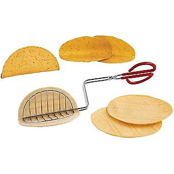 Norpro taco press shell maker press tortilla fryer tongs with coated handle kitchen utensils lc553
