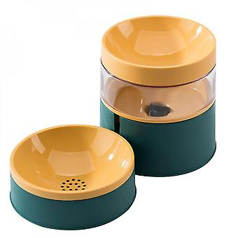Automatic Pet Drinking Water Feeder Integrated Pet Food Bowl Silent Water Fountain Pump Large Capacity Pet Drinking Supplies For Cats Dogs