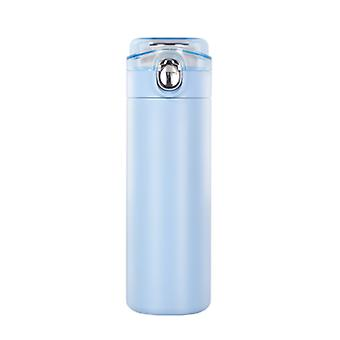 Hot / Cold Insulated Reusable Insulated Mug 400ml Water Made of High Quality 304 Stainless Steel(Blue)