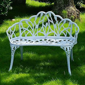 Loveeats יצוק אלומיניום פנאי פאטיו ספסלים / שביל כיסא