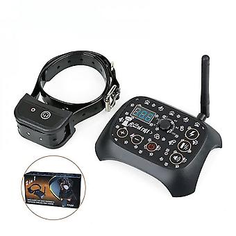 Wireless Pet Fence Wired Pet Electronic Fence Pet Stop Barker Dog Trainer Stop Barker Dog Trainer Collar Tf68