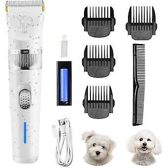 Low Noise Rechargeable Wireless Pet Hair Clipper