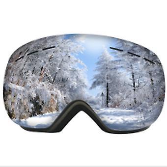 Ski Snowboard Briller Med Rammeløs Design Revo Belagt Linse Uv400 Beskyttelse